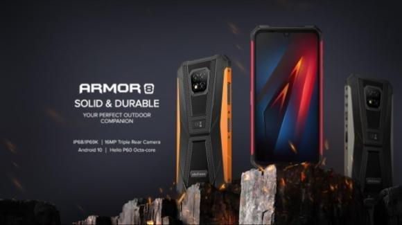 Ulefone Armor 8: in pre-ordine lo smartphone rugged low cost con maxi batteria