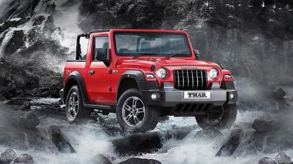 Ecco il nuovo fuoristrada 4×4 Mahindra Thar 2020 in stile Jeep Wrangler