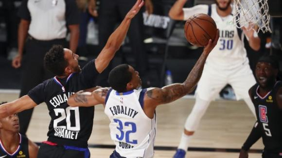 NBA Playoffs 2020: i Mavericks sorprendono i Clippers, i Raptors piegano di nuovo i Nets