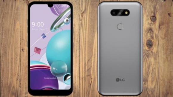 LG K31: ufficiale l'entry level con scanner d'impronte e ultragrandangolo