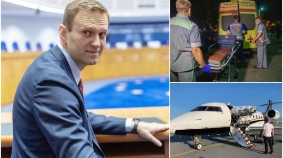 Alexei Navalny è atterrato a Berlino ed è ricoverato presso l'ospedale della Charitè