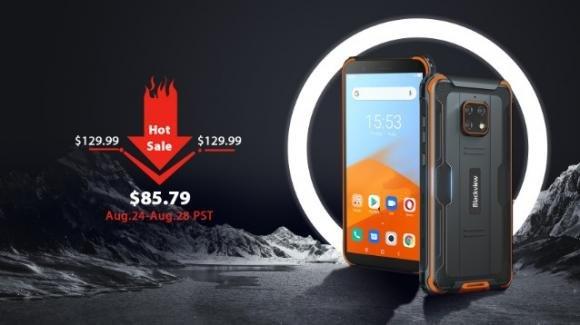 Blackview BV4900: in pre-ordine il rugged phone low cost per ambienti estremi