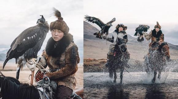 Mongolia, le ultime sopravvissute delle custodi delle aquile