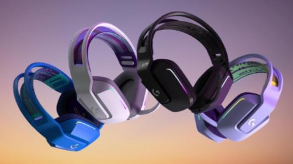 Logitech G733: ecco le nuove cuffie wireless da gaming della Color Collection
