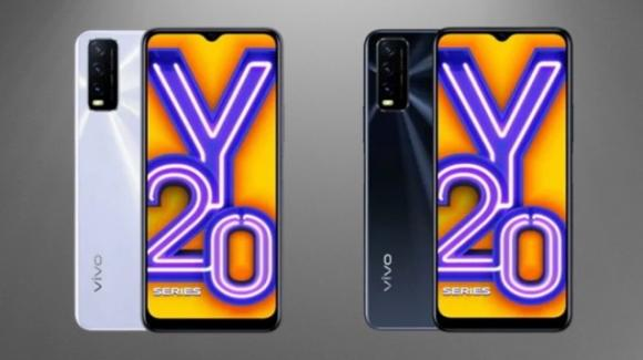 Vivo Y20 e Vivo Y20i: nuovi entry level con ampia autonomia e grande display