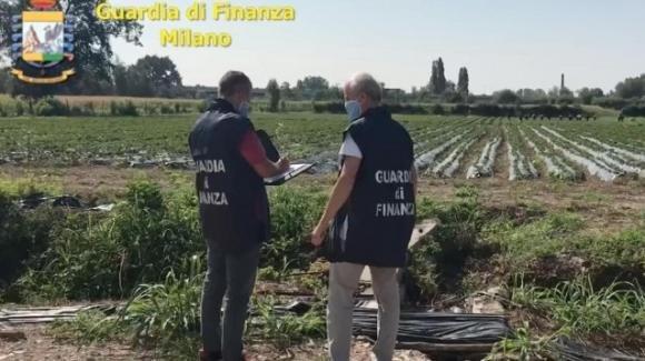La cascina Pirola di Cassina de Pecchi è sotto sequestro per l'accusa di caporalato