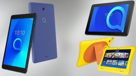 TCL amplia il listino dei tablet Alcatel con tre nuovi modelli (di cui uno per bambini)