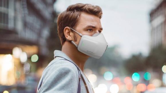 Una mascherina elettrica per proteggerci in maniera tech