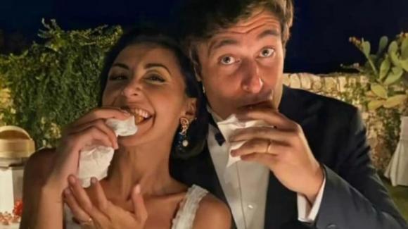 Arriva dopo un mese dal sì la festa di nozze per Lino Guanciale e Antonella Liuzzi