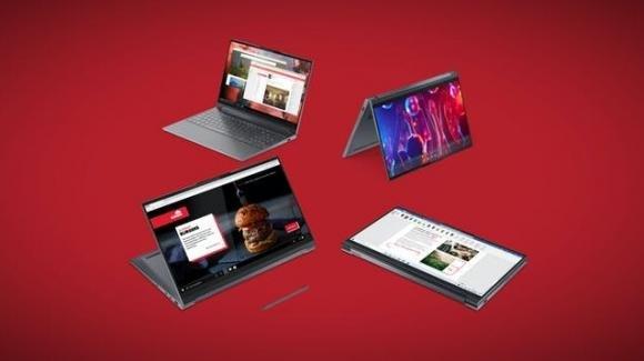 Lenovo completa l'assortimento del 2020 con notebook, tablet e smart clock