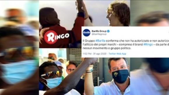 """Bufera social per Salvini che riprende lo spot della Ringo. La Barilla: """"Mai dato autorizzazione"""""""