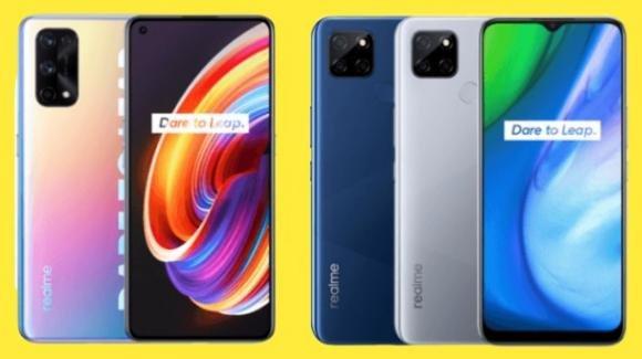 Realme X7 Series e Realme V3 5G: ufficiali i nuovi medio-gamma con 5G