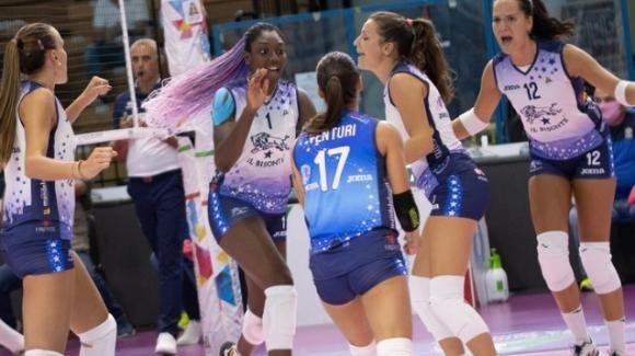 Supercoppa volley femminile 2020, ottavi di finale: Bisonte Firenze vince 3-2 contro VBC ÈPiù Casalmaggiore