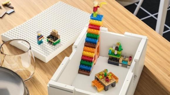 Nasce la linea BYGGLEK, connubio tra Ikea e Lego per riordinare la camera dei più piccoli