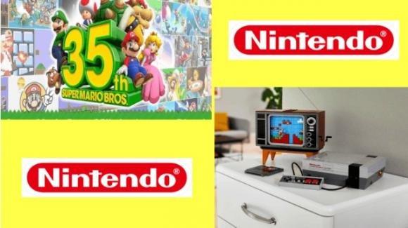 Nintendo mania: set LEGO NES e tanti giochi per i 35 anni di Super Mario