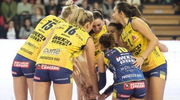 Volley femminile, semifinale Supercoppa italiana: Conegliano vince 3-0 contro Scandicci