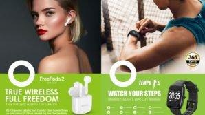 Tempo 1S e FreePods 2: da Oraimo i nuovi indossabili per il fitness