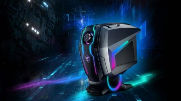 """MEG Aegis Ti5: da MSI il gaming desktop """"robot"""" con GPU Nvidia Ampere"""