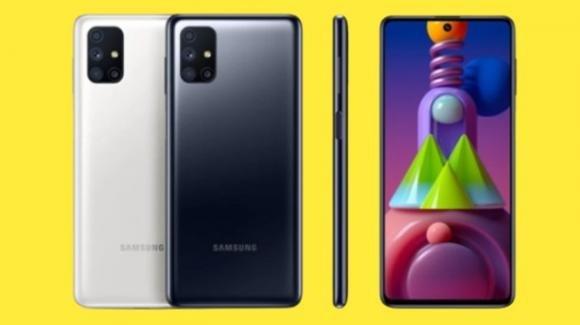 """Samsung Galaxy M51: ufficiale il medio-gamma con batteria """"monstre"""""""