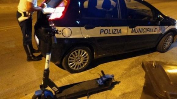 Napoli: primo tentato furto di monopattino elettrico dopo 24 ore dall'avvio del servizio