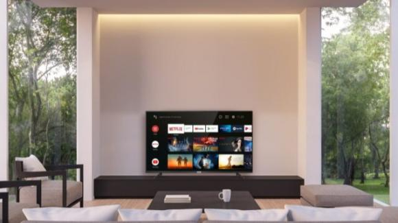 TCL porta in Italia le smart TV, Android based, P61 e P81
