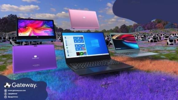 Acer resuscita il brand Gateway con 11 prodotti tra portatili, convertibili e tablet