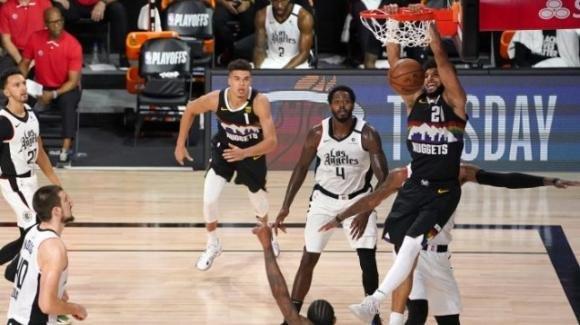NBA Playoffs 2020: Nuggets, ad un passo dall'eliminazione, approdano a gara 7, beffa per i Clippers
