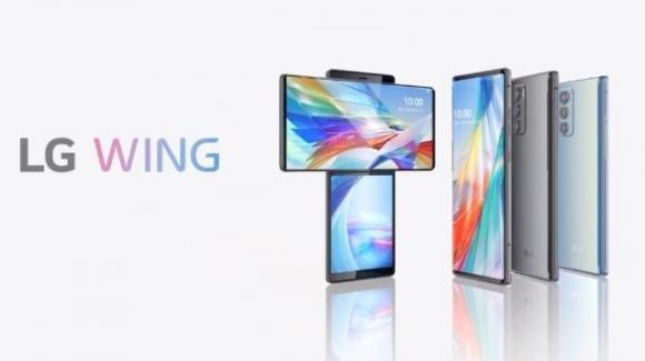 LG Wing: è arrivato il (nuovo) smartphone con display rotante
