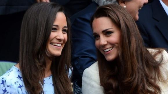 Pippa Middleton costretta ad uscire di scena per non oscurare l'immagine della sorella Kate