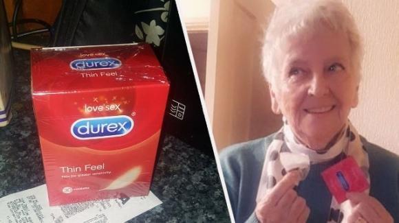 Anziana compra confezione da 30 Durex pensando che fossero bustine di tè