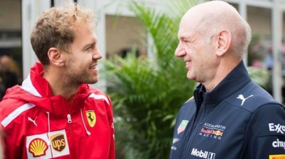 Dopo Sebastian Vettel, la futura Aston Martin vuole anche Adrian Newey