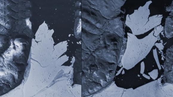 Riscaldamento globale: ghiacciaio grande come Firenze si stacca dalla Groenlandia