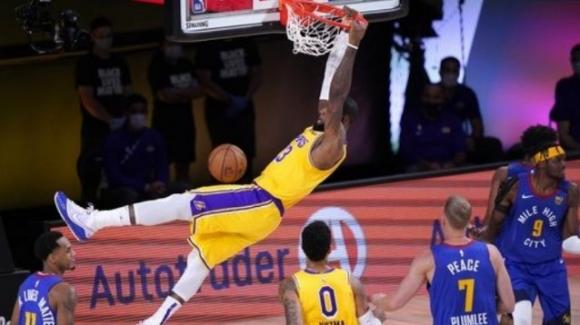 NBA Playoffs 2020: i Lakers superano i Nuggets nel segno di Anthony Davis