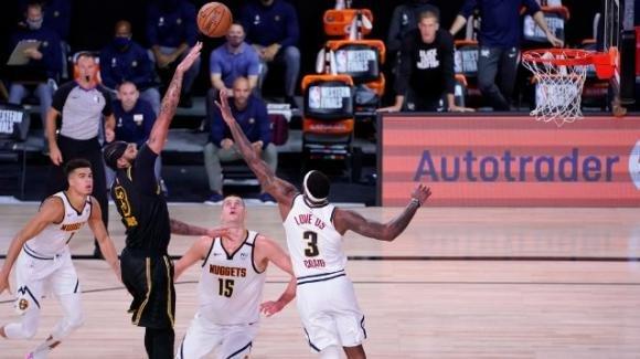 NBA Playoffs 2020: ancora Anthony Davis decisivo, Lakers 2-0 sui Nuggets nella finale di conference