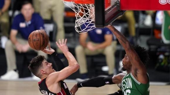 NBA Playoffs 2020: i Miami Heat ottengono il 3-1 nella finale della Eastern Conference sui Boston Celtics