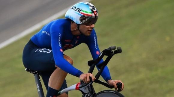 Mondiali di ciclismo: Filippo Ganna oro nella prova a cronometro