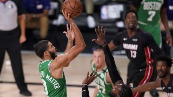NBA Playoffs 2020: vittoria netta dei Celtics, serie ancora aperta contro gli Heat