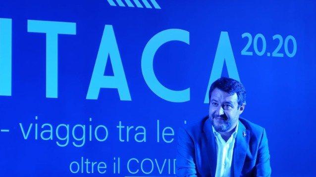 """Matteo Salvini a Formello: """"Ho la febbre! Il medico mi ha detto di stare a casa, ma non potevo mancare"""""""