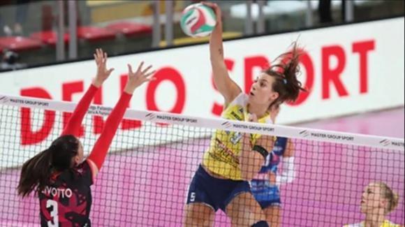 Samsung volley: Delta Trentino batte Casalmaggiore 3-1