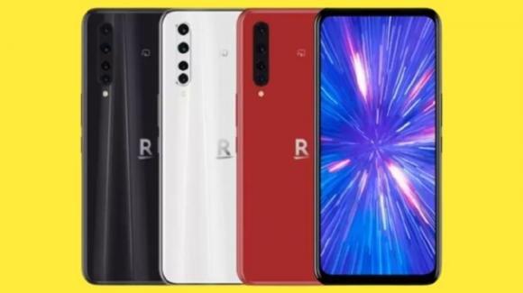 Rakuten Big: ufficiale il medio-gamma 5G con selfiecamera sotto il display