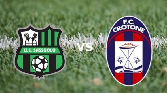 Serie A Tim: probabili formazioni di Sassuolo-Crotone