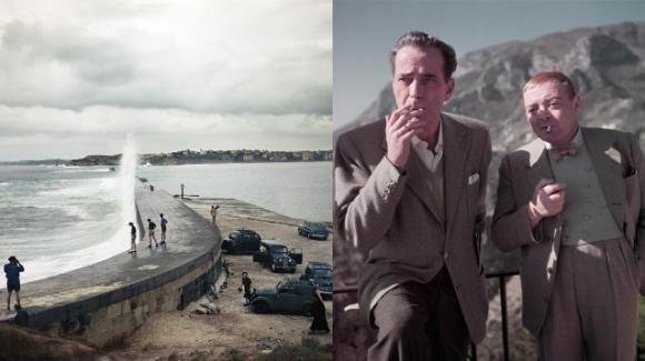 """""""Capa in color"""", la mostra fotografica di Robert Capa a Torino"""