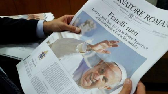 """""""Fratelli tutti"""", l'enciclica di Papa Francesco sulla fraternità e l'amicizia sociale"""