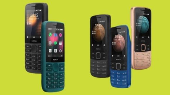 Nokia 215 4G e Nokia 225 4G: ufficiali i nuovi feature phone di HMD Global