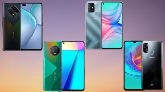 Infinix Zero 8i, Infinix Note 7, Infinix Hot 10 e 10 Lite: smartphone per tutti i gusti, da Transsion