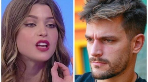 GF Vip, Natalia Paragoni fuori dalla Casa con un megafono: lo sfogo della fidanzata di Andrea Zelletta