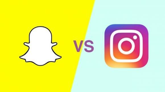 Snapchat con novità ufficiali vs Instagram con rumors per i Reels