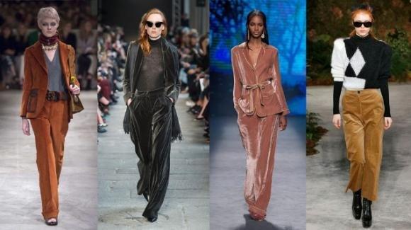 Pantaloni di velluto, trend autunno/inverno 2020/2021