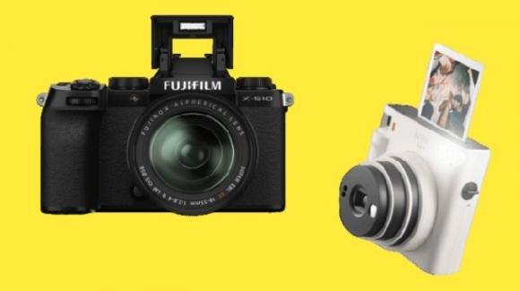Fujifilm alla carica, con nuove fotocamere, mirrorless e a sviluppo istantaneo