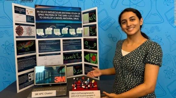 USA: studentessa 14enne scopre una possibile cura che blocca il Coronavirus